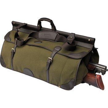 Maremmano Canvas and Leather Travel Bag with Gun Place (E806)
