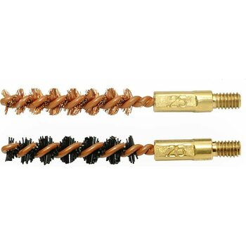 Otis 6MM/.243CAL BORE BRUSH 2 PACK (1 NYLON/1 BRONZE)