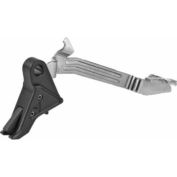Agency Arms Drop-In Trigger, For Gen4 Glock 9mm / .40 / 357, Black Finish