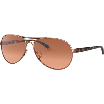 Oakley Feedback Rose Gold /w Vr50 Brown Gradient