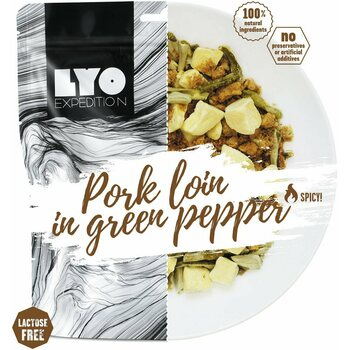 LYO Foods Pork loin in green pepper with potatoes, 500 g (L)