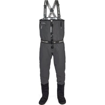Guideline Experience Sonic Tizip Wader, Charcoal, LK