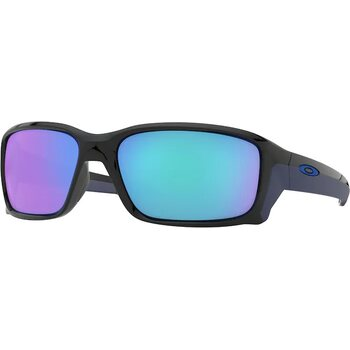 Oakley Straightlink Polished Black w/ Sapphire Iridium