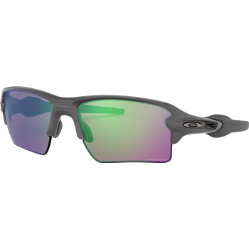 Oakley Flak 2.0 XL Steel w/ Prizm Road Jade