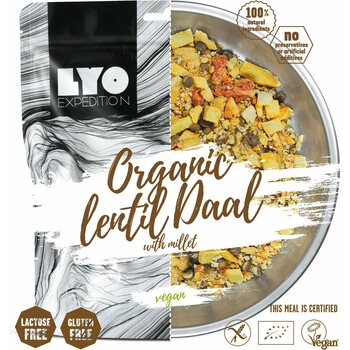 LYO Foods Organic Lentil Dhal with Millet 370g