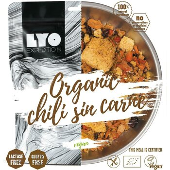LYO Foods Organic Chili Sin Carne with Polenta 370g