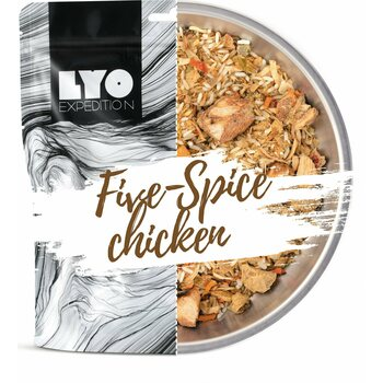 LYO Foods Five Spice Chicken and Rice, 500 g (L)