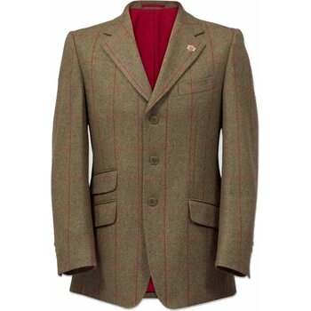 Alan Paine Combrook Mens Tweed Blazer - Classic Fit