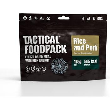Tactical Foodpack Rice and Pork