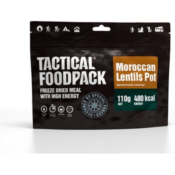 Tactical Foodpack Maroccan Lentils Pot
