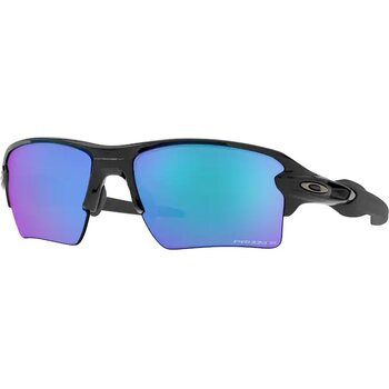 Oakley Flak 2.0 XL Polished Black w/ Prizm Sapphire Iridium Polarized