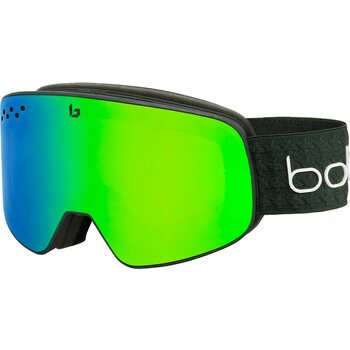 Bolle Nevada Forest Matte w/ Green Emerald Cat 2