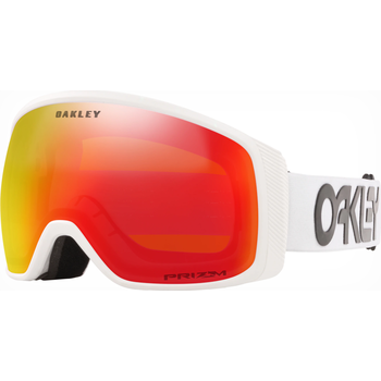 Oakley Flight Tracker XM Factory Pilot White w/ Prizm Torch Iridium