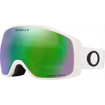 Oakley Flight Tracker XM Matte White w/ Prizm Jade Iridium