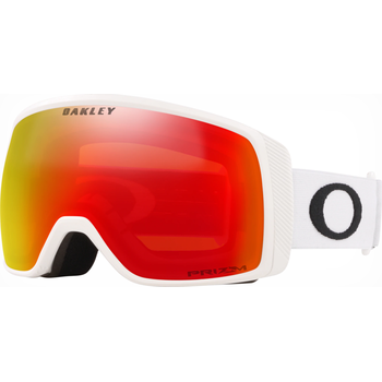 Oakley Flight Tracker XS Matte White w/ Prizm Snow Torch Iridium