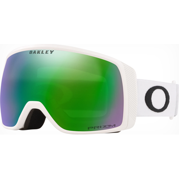 Oakley Flight Tracker XS Matte White w/ Prizm Jade Iridium