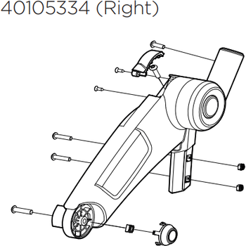 Thule Upper Bracket - Right
