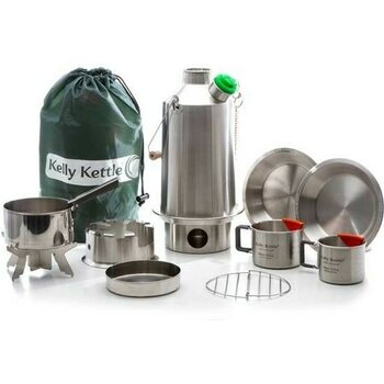 "Kelly Kettle Ultimate ""Base Camp"" Kit (Stainless Steel)"