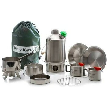 "Kelly Kettle Ultimate ""Scout"" Kit (Stainless Steel)"