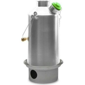 "Kelly Kettle Large ""Base Camp"" Kettle (1.6 ltr) Stainless Steel"