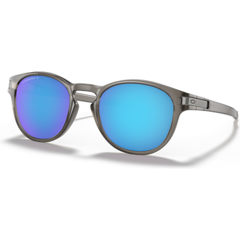 Oakley Latch, matte Grey Ink w/ Prizm Sapphire Polarized