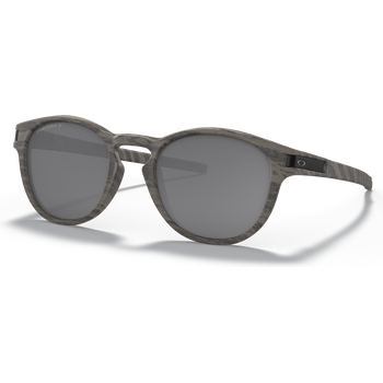 Oakley Latch Woodgrain w/ Prizm Black Polarized