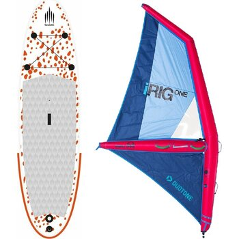 Inflatable Windsurf SUP + Inflatable SUP sail size M