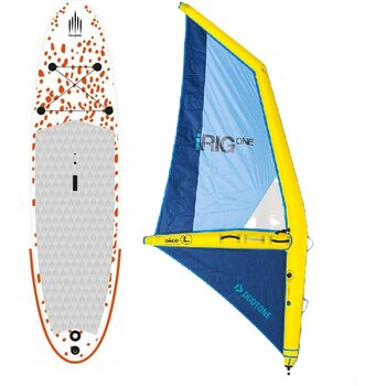 Inflatable Windsurf SUP + Inflatable SUP sail size L