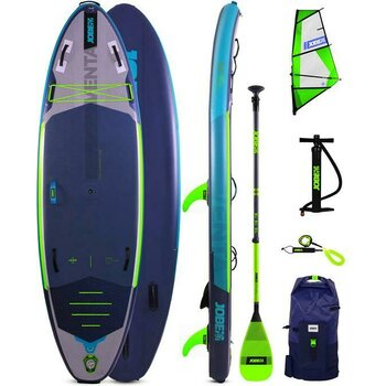 Jobe Venta 9.6 Inflatable Paddle Board with Venta SUP Sail