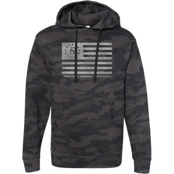 Daniel Defense Distressed Flag Hoodie