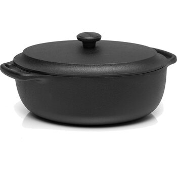 Skeppshult Casserole oval 4 L with cast iron lid