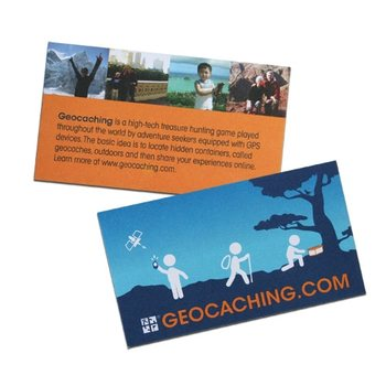 Groundspeak Geocaching Trail Cards