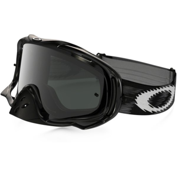 Oakley Crowbar Mx, Jet Black w/ Dark Grey
