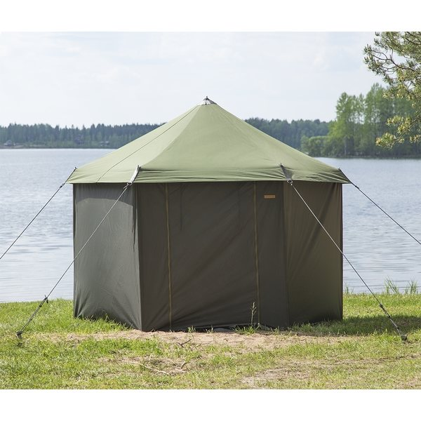 Savotta Small Sauna Tent Package (Includes centre and side poles + wedges)