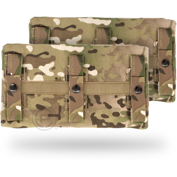 "Crye Precision JPC Long Side Armor Plate Pouch Set Size 2 Coyote 6/"" x 11.5/"""