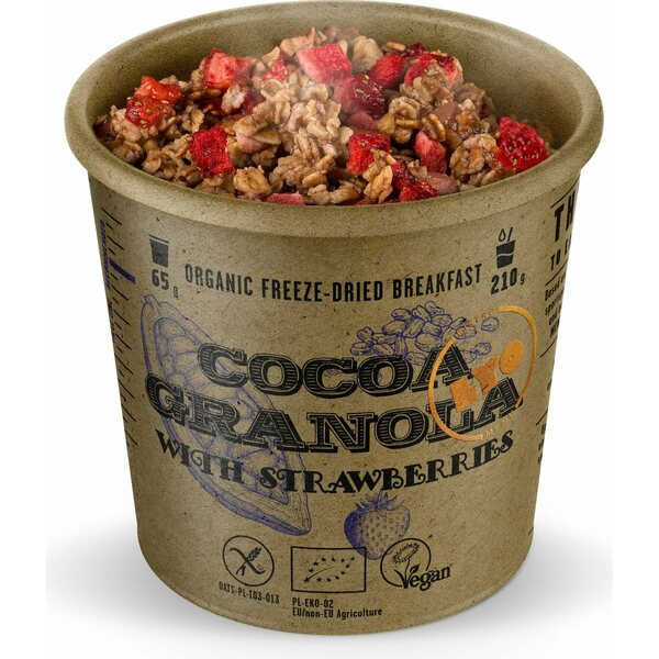 LYO Foods Organic Cocoa Granola with Strawberries