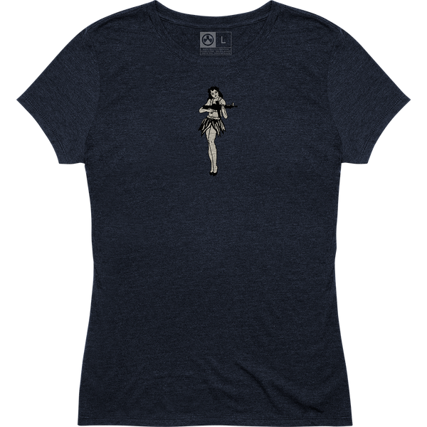 Magpul Women's Hula Girl Tri-Blend T-Shirt