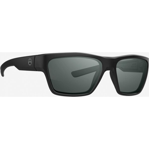 Magpul Pivot Eyewear, Polarized - Black Frame, Gray Green Lens