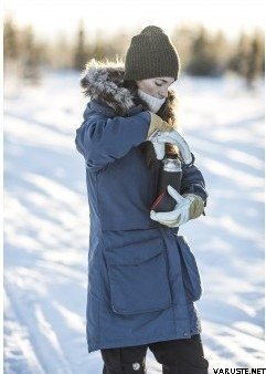 Fjällräven Barents Parka Women | Naisten talvitakit