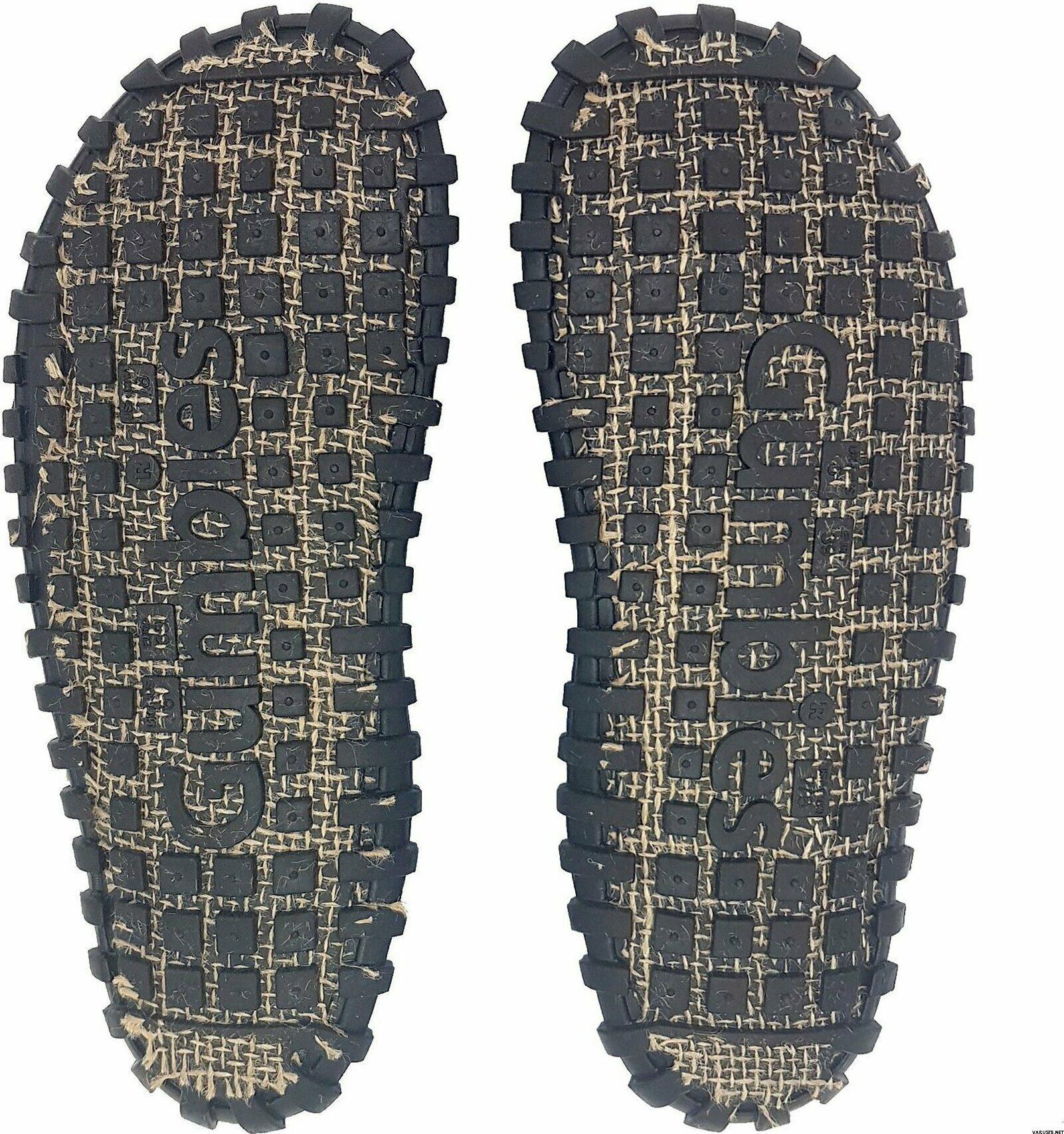 Gumbies Islander Canvas Flip-Flops Dark