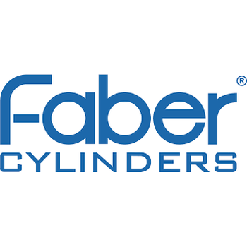 Faber Cylinders 12L long/200 bar, Hot Dipped (tank only)