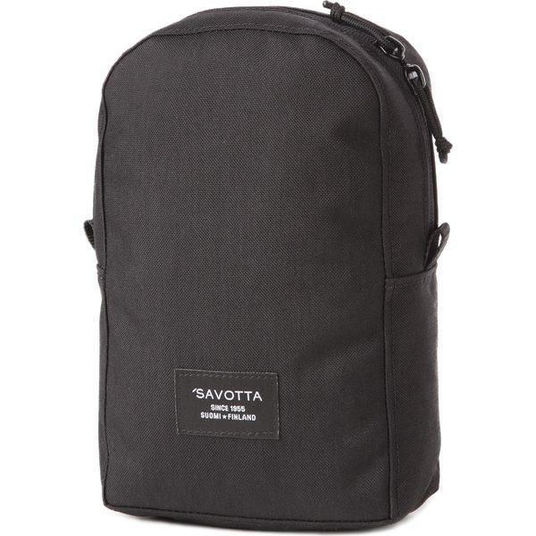 Savotta MPP pocket M schwarz Rucksacktasche Zusatztasche Rucksack Packtasche