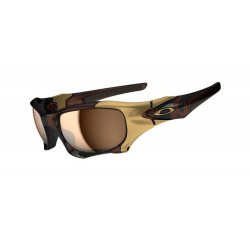 Oakley Pit Boss 2, Polished Rootbeer/Tungsten Iridium Polarized