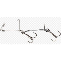 Savage Gear Cork Screw Shad Spin Rig