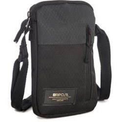 Rip Curl Slim Pouch Stacka, Musta