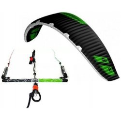"Flysurfer Sonic-FR 9 -""ready to fly"" w/ Infinity 3.0 Airstyle Control Bar"