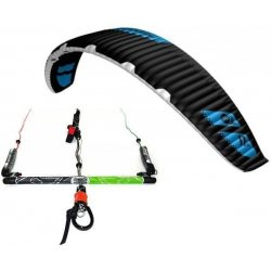 "Flysurfer Sonic-FR 11 -""ready to fly"" w/ Infinity 3.0 Airstyle Control Bar"