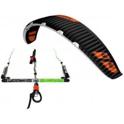 "Flysurfer Sonic-FR 15 -""ready to fly"" w/ Infinity 3.0 Airstyle Control Bar"