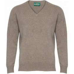 Alan Paine Long Sleeve V Neck Sweater