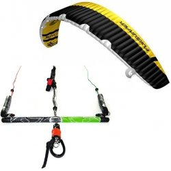 "Flysurfer Sonic2 6.0 -""ready to fly"" w/ Infinity 3.0 Airstyle Control Bar"